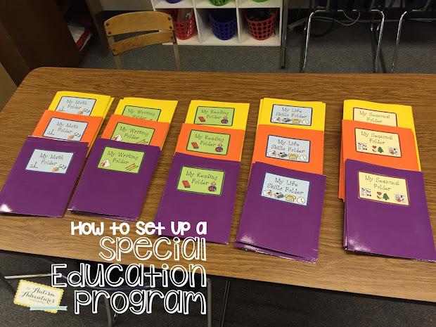""""""" Set Special Education Program""""- Organization"""