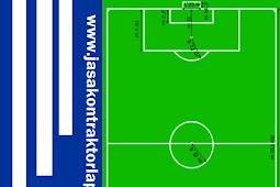 √ Ukuran Luas Lapangan Sepak Bola Standar FIFA