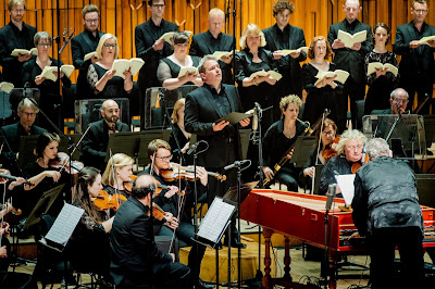 Handel: Brockes Passion - Robert Murray, Academy of Ancient Music, Richard Egarr - Barbican (Photo Robert Workman)