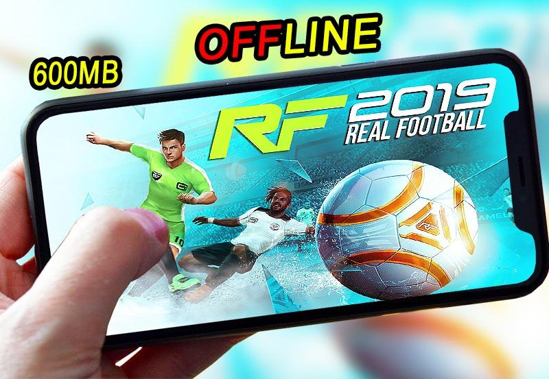 تحميل لعبة real football 2019 أخر اصدار للاندرويد من مديا فاير بحجم 600mb