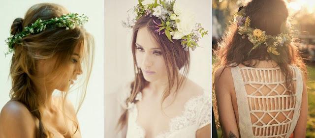 бохо свадьба прическа бохо невесты фото