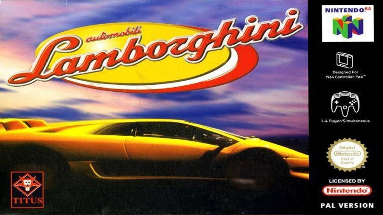 ROMs - Automobili Lamborghini (Português) - N64 Download