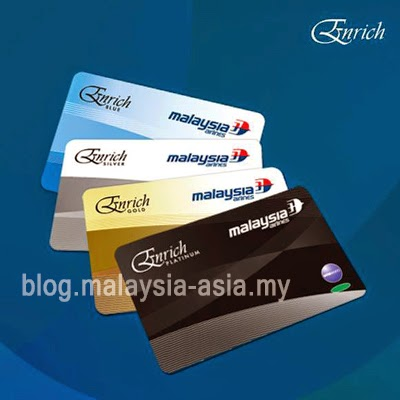 Malaysia Airlines Enrich Cards