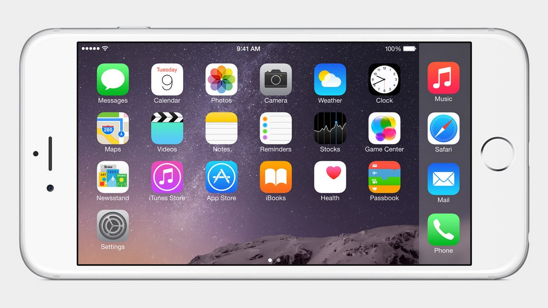 iPhone 6s Plus offers Landscape mode, Zoom View and one-handed mode