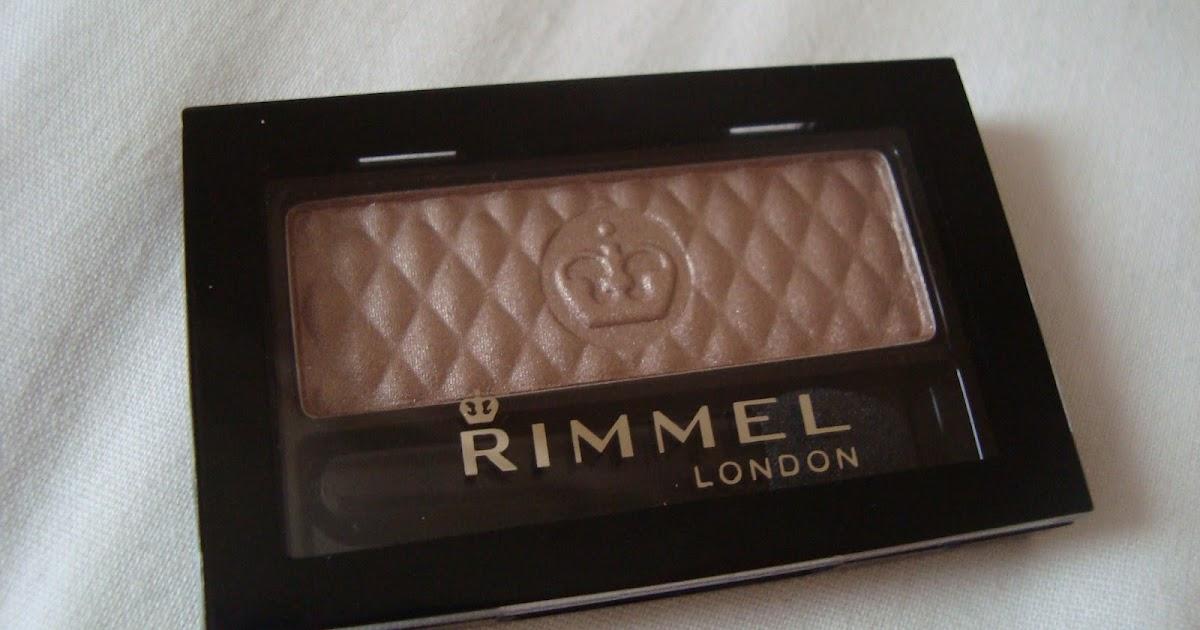 Review Rimmel London Glam Eyes Mono Eyeshadow In Smokey