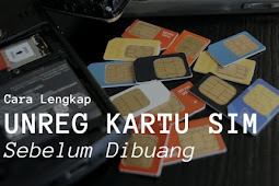 Cara Unreg Kartu yang Sudah Terdaftar