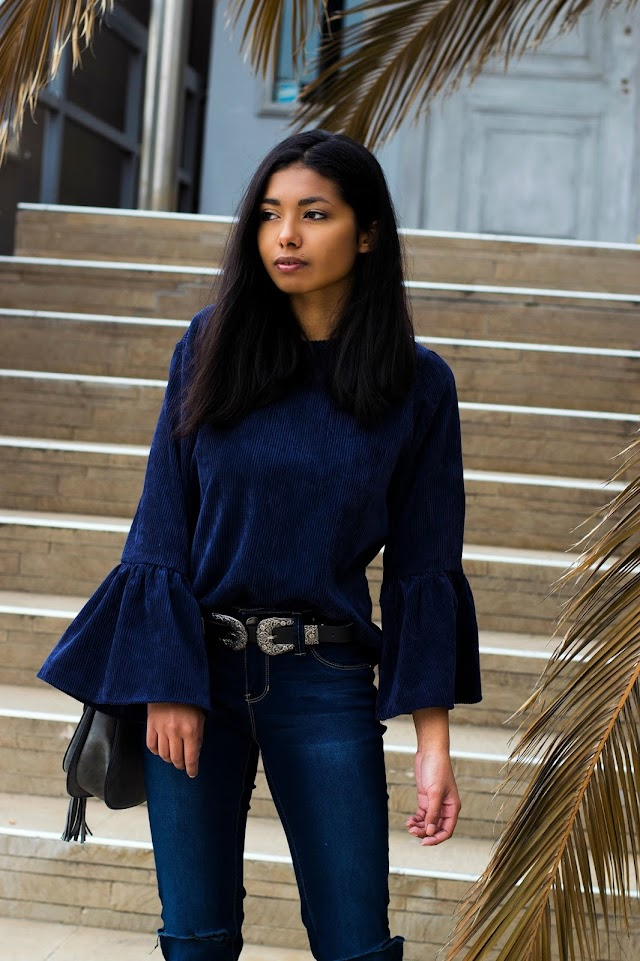 The Casual Ruffle Sleeve Top (9 under $100)