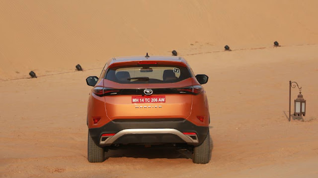 New Tata Harrier rear view picture