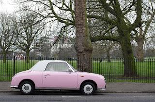 Coche rosa