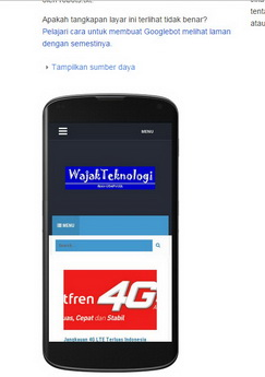 WajakTeknologi Mobile friendly
