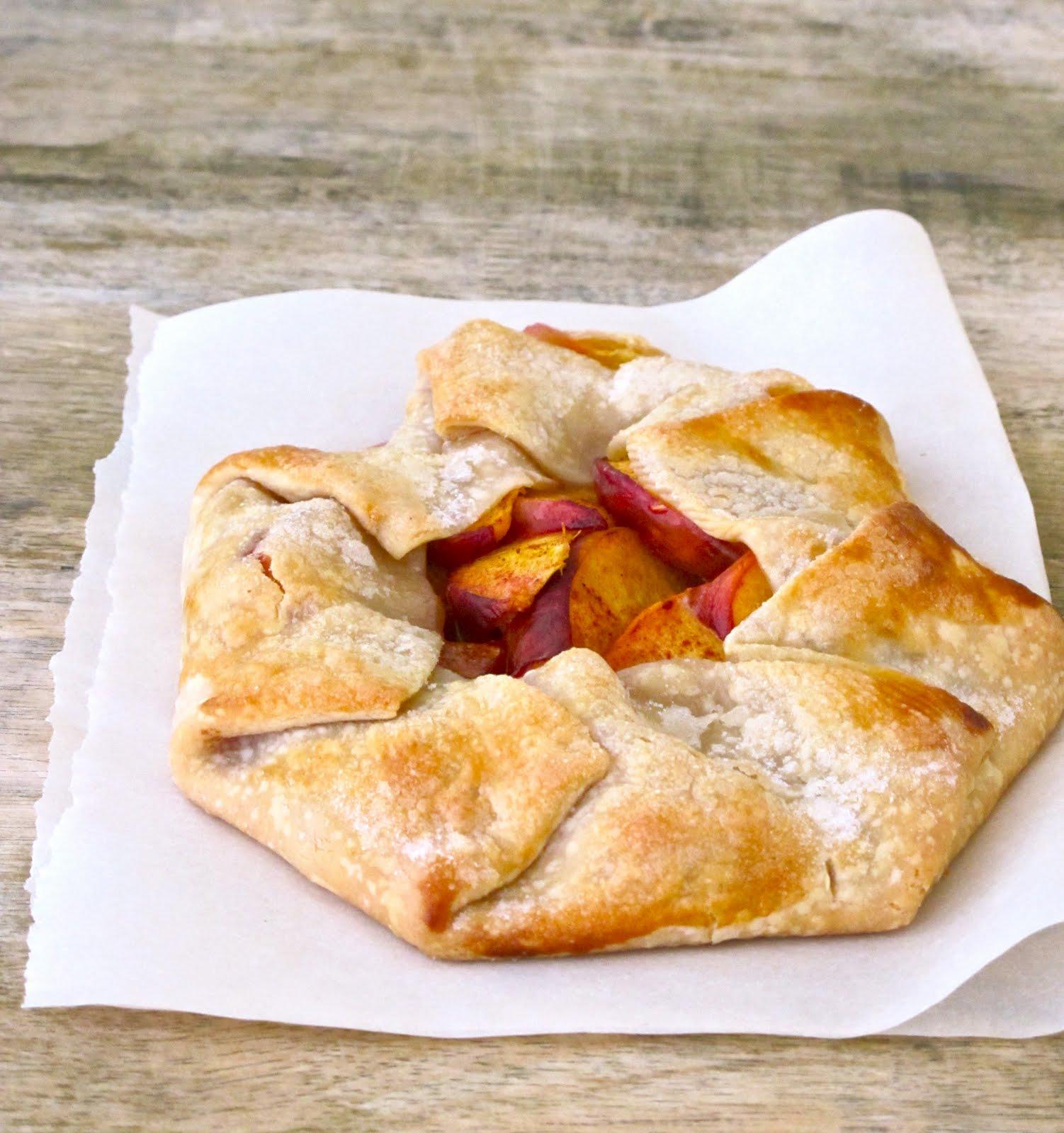 Jenny Steffens Hobick: Peach Crostata