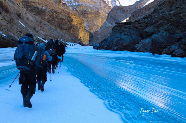 Chadar Frozen River Trek Zanskar Leh Ladakh