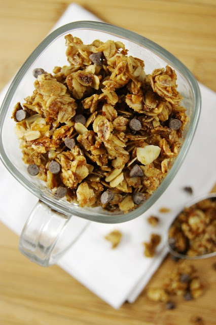 Mocha {or Just Coffee} Granola