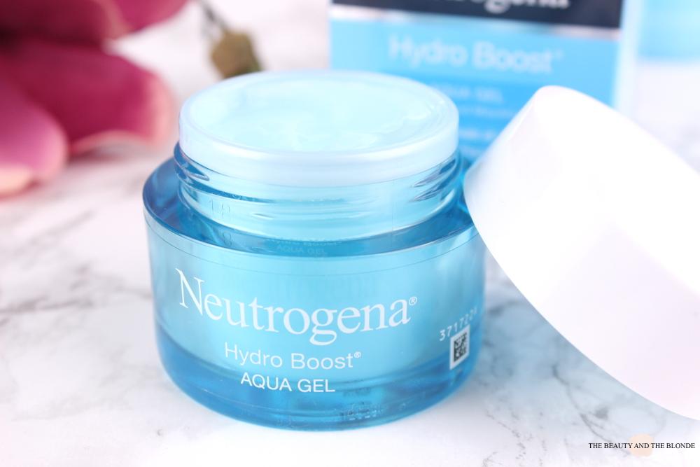Neutrogena Hydro Boost Aqua Gel Review Drogerie Drugstore Skincare