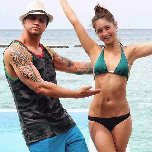 Very Sweet Photos of Coleen Garcia and Billy Crawford at Velassaru Maldives