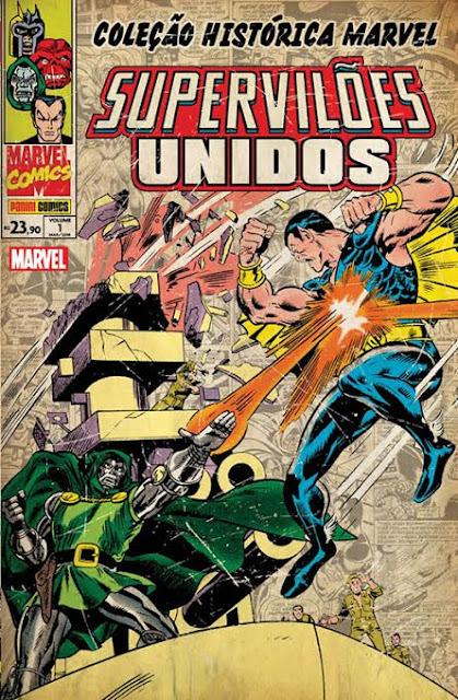 Panini lança Coleção Histórica Marvel Supervilões Unidos