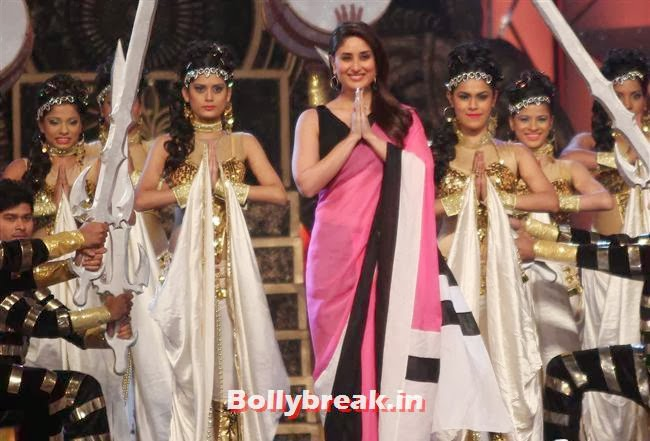 Kareena Kapoor, Bollywood Celebs at Umang Police Show 2014