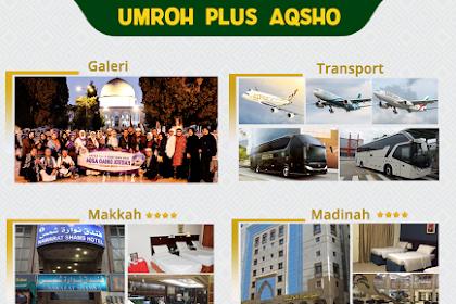 Biaya Paket Umroh Plus Aqso Oktober 2019