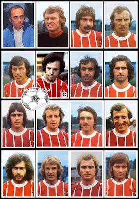 Bergamnn Bayern Munchen 1973/74