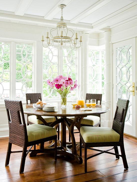 New Home Design Information Breakfast Nook Ideas