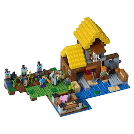Minecraft The Farm Cottage Lego Set