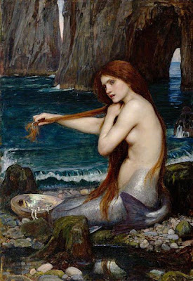 A Mermaid by John William Waterhouse