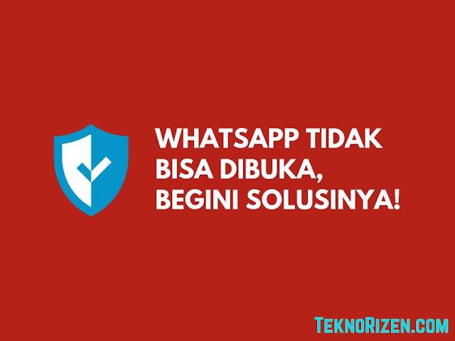 Penyebab WhatsApp, Facebook, Instagram Down dan Solusinya