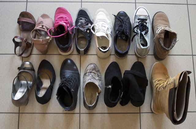 Défi : Fais le tri dans tes chaussures ! (désencombrement / minimalisme)