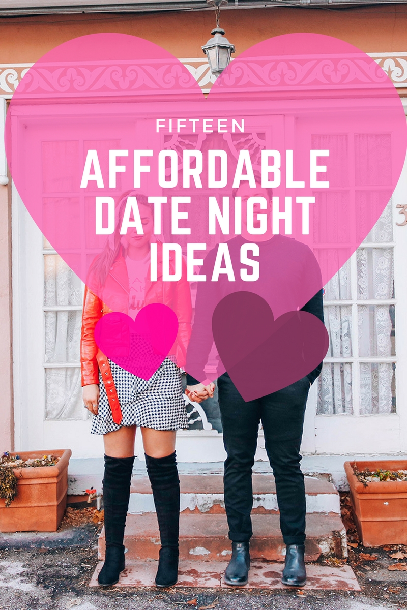 Affordable Date Night Ideas, cheap dates, cheap dat ideas