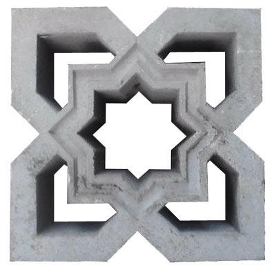 roster masjid motif bintang segi delapan