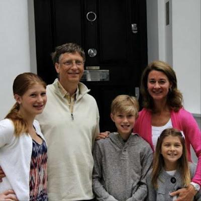 bill gates family
