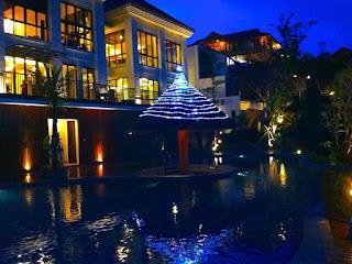 Menikmati Malam Hari kota Malang di Jambuluwuk Batu Resort