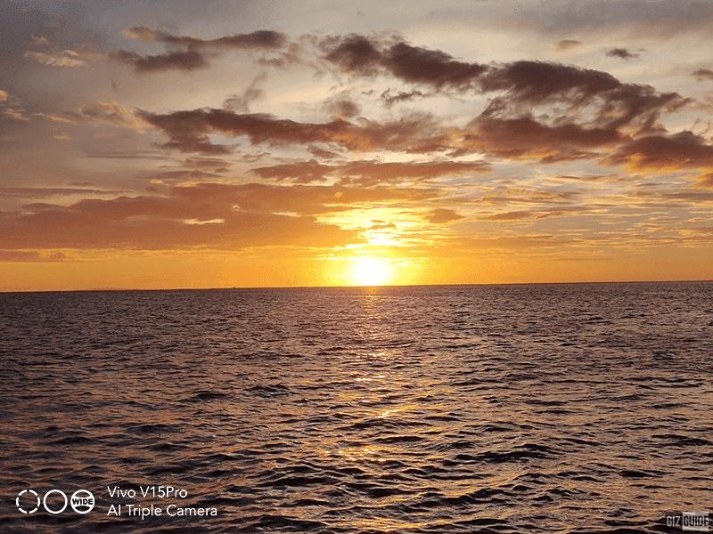 Stunning Boracay sunset