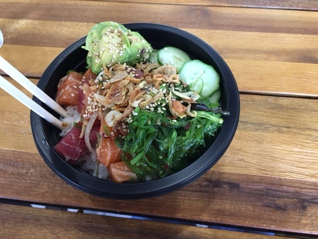 Poke King bowl