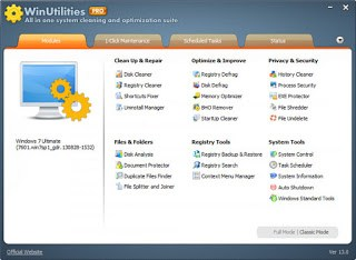 WinUtilities Professional 15.21 Multilingual Full Keygen
