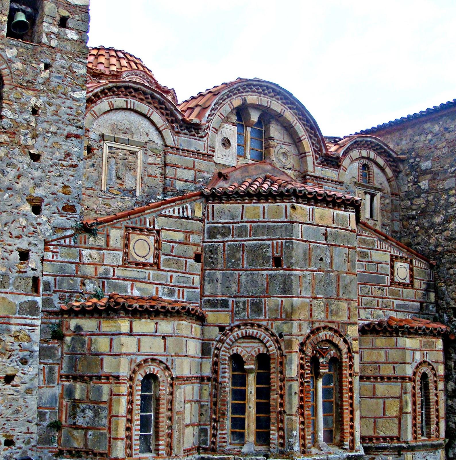 Byzantine Church.Mistras