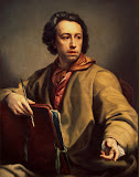 Self-Portrait by Anton Raphael Mengs - Portrait Paintings from Hermitage Museum