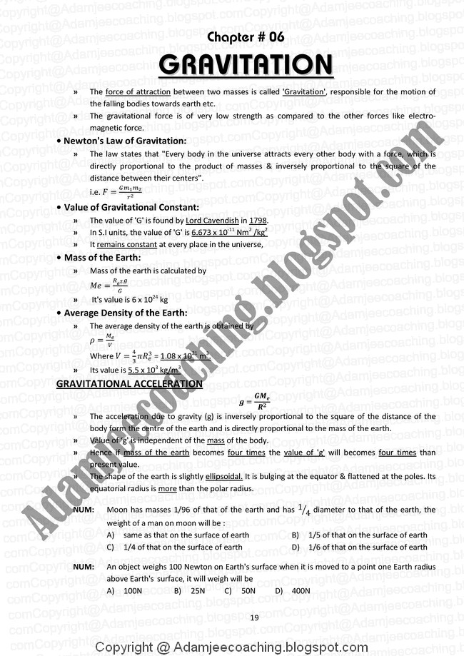 Chapter wise solutions to H C Verma's Concepts of Physics Part 1