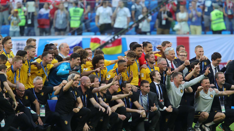 Bélgica 2 x 0 Inglaterra