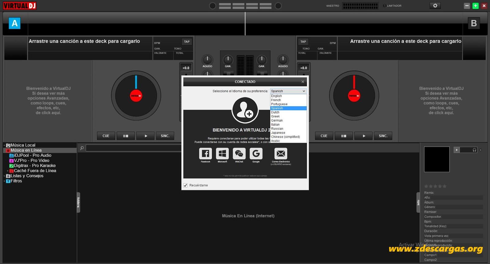 VirtualDJ Pro 8 Full Español