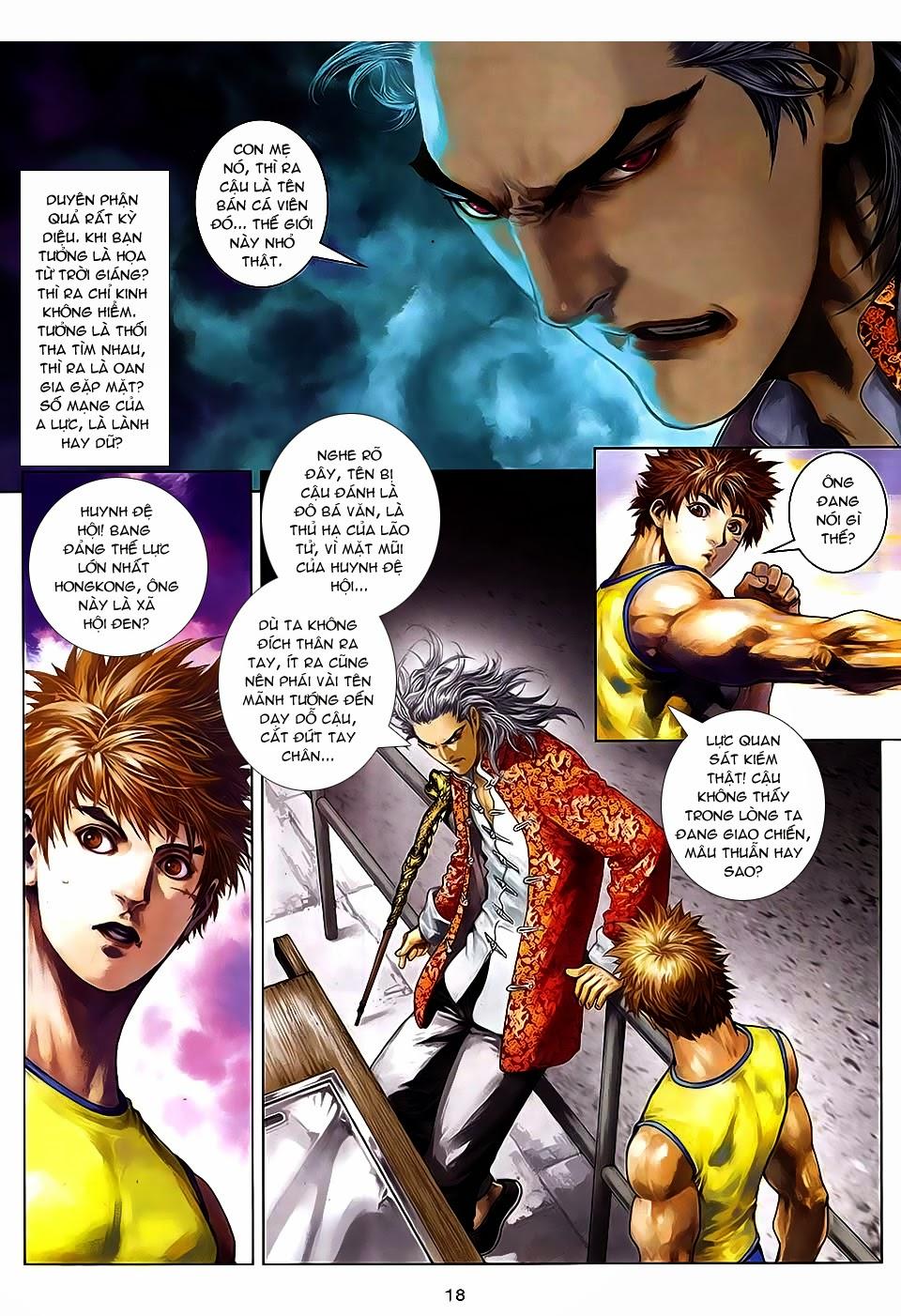 Quyền Đạo chapter 7 trang 17