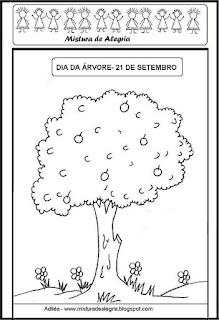 Atividades sobre o dia da árvore