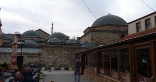 Baños turcos Cifte Amam de Skopje.