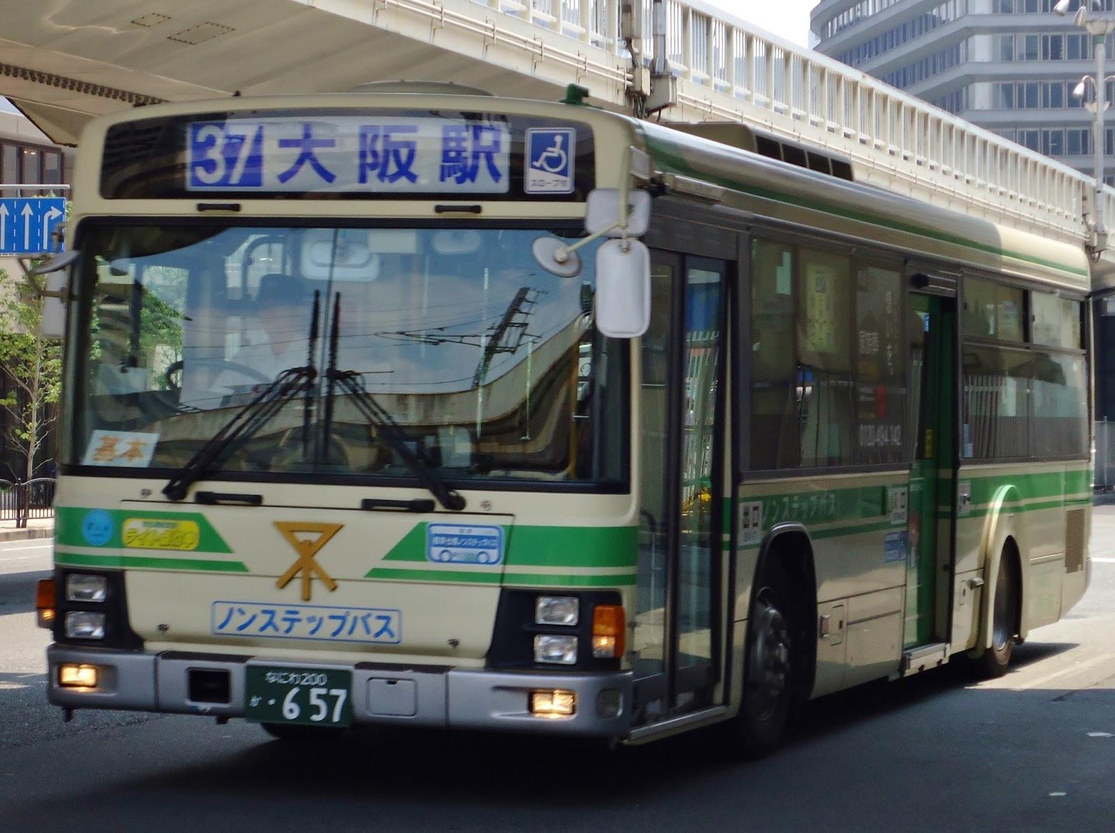 広島のバス: 大阪市交通局 なに...
