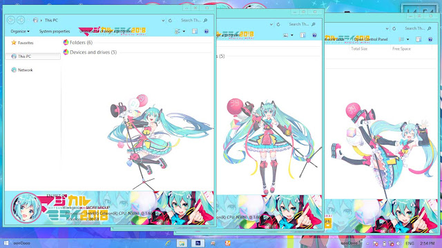 Magical Mirai 2018 Theme Win 8/8.1 by Enji Riz Lazuardi