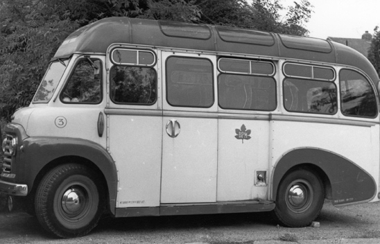 Photograph of a Greenleaf coach. June 1966. Photograph by Ron Kingdon, digitised by Mike Allen