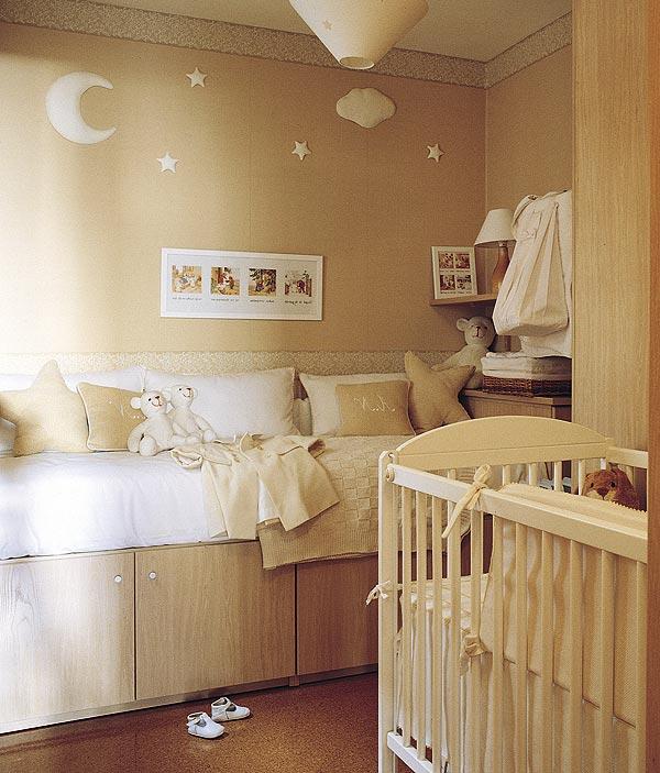 Dise o habitaciones para bebes - Adornos habitacion bebe ...