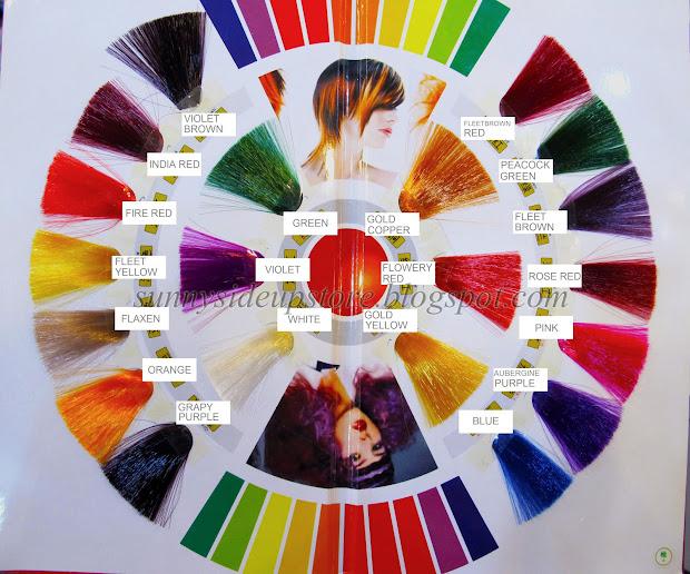 pravana vivid hair color swatches