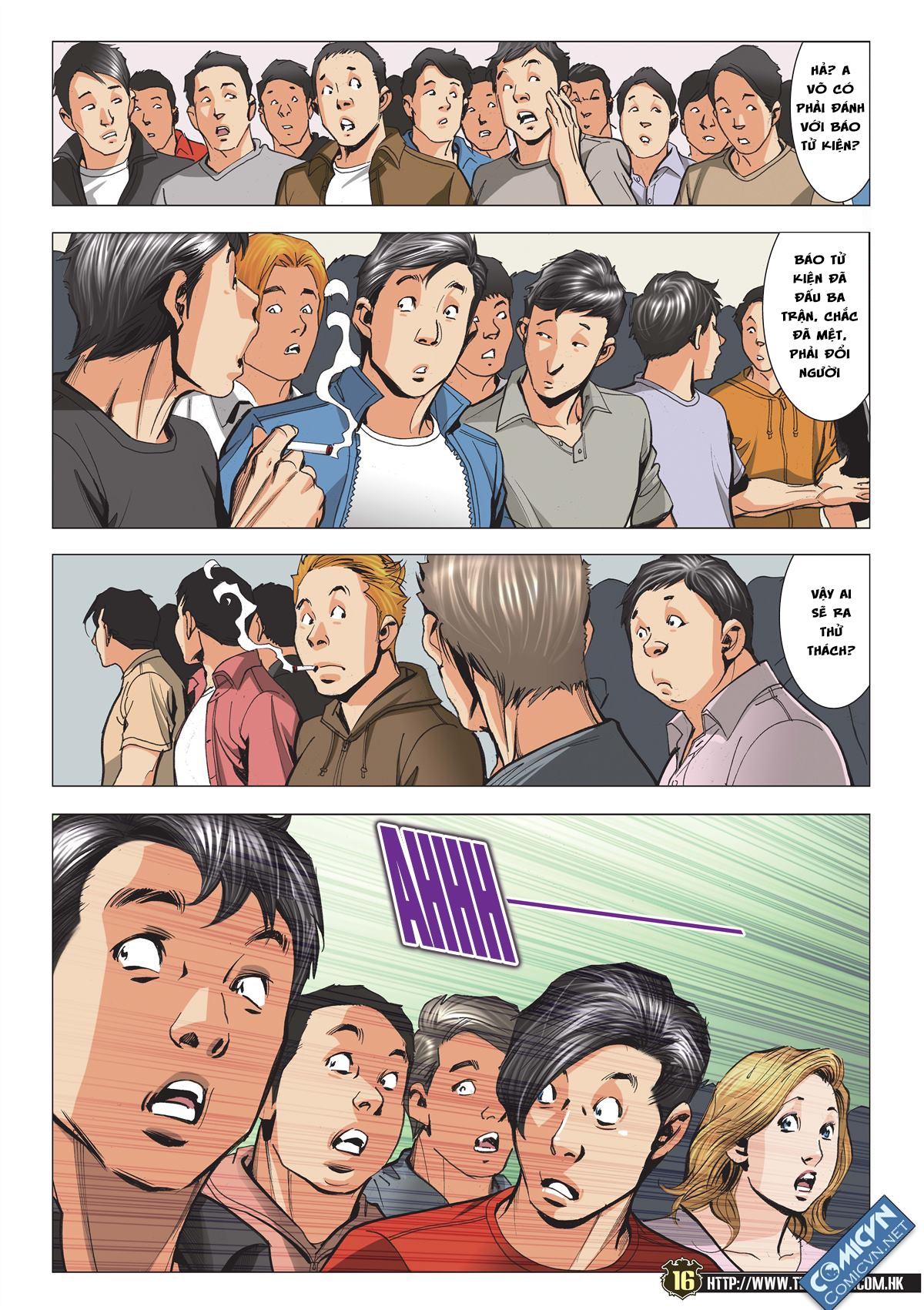 Người Trong Giang Hồ chapter 2119: nam ca vs thượng võ trang 15