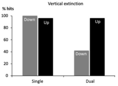 図:水平性消失
